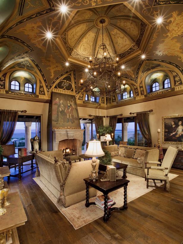 Modern Furniture: 2012 Living Room Design Styles From HGTV
