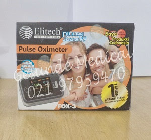 jual oxymeter elitech fox 3