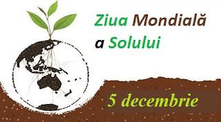 5 decembrie: Ziua Mondială a Solului