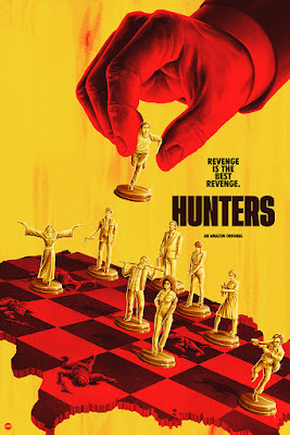 Hunters: An Amazon Original Series Screen Print by Matt Ryan Tobin x Mondo