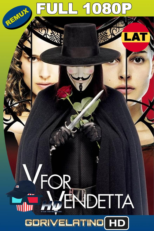 V de Vendetta (2005) BDRemux FULL 1080p Latino-Ingles MKV