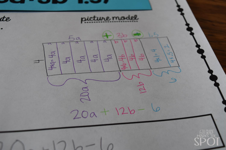 6th Grade Marks The Spot