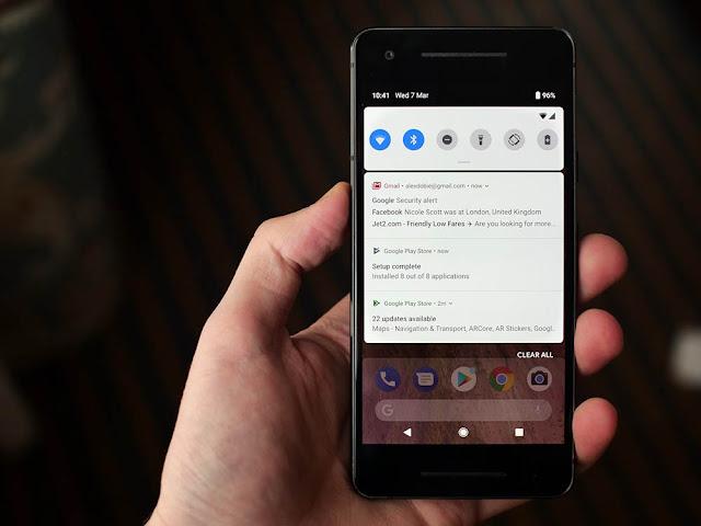 Navigasi Recent Mirip iPhone X