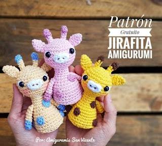 PATRON GRATIS JIRAFA AMIGURUMI 39020