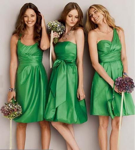 Vestidos de madrina verde