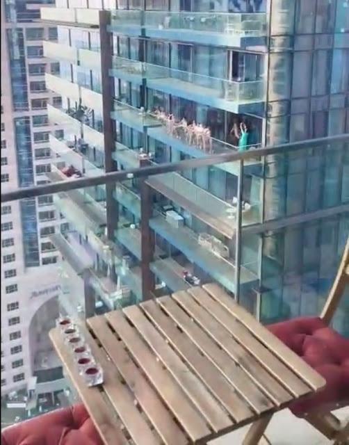 Arrestation massive à Dubaï après que des femmes aient été vues en train de poser nue sur un balcon