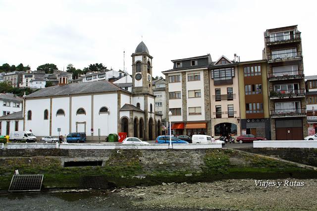 Iglesia de Santa Eulalia de Luarca, Asturias