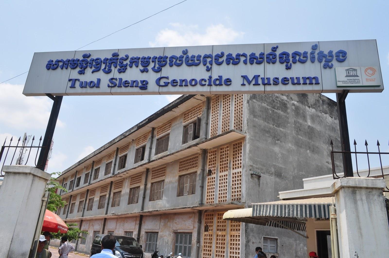 Image result for bangunan tuol sleng cambodia