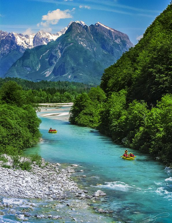 Cute Turquoise Wallpapers Soca River Jewels Of Nature Most Beautiful Places In