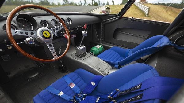 Interior Ferrari 250 GTO Scaglietti