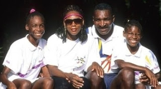 Oracene Price with ex-husband Richard and their daughters