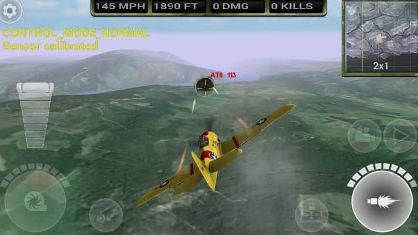 Fighter Wing 2 juego de aviones de guerra