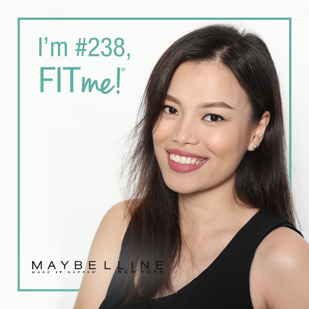 065dfd3d963 Get your perfect match with FitMe! by Maybelline New York and tell the  world,