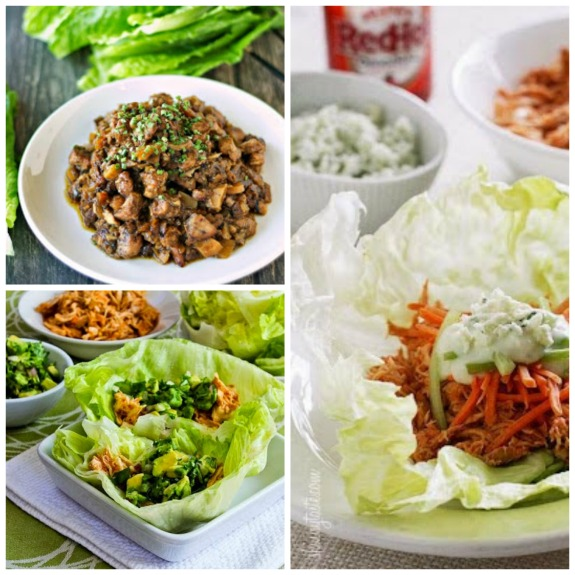 Crock Pot Buffalo Chicken Lettuce Wraps Skinnytaste | Chicken Wing ...