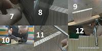 Cortar los dientes de la unión de lazos rectos. http://www.enredandonogaraxe.com