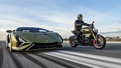 Ducati Diavel Lamborghini 2021