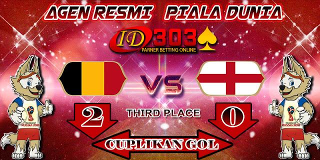 CUPLIKAN GOL BELGIUM 2 - 0 ENGLAND