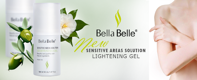 Gel làm hồng nhũ hoa Bella Belle Areas Solution Lightening Gel