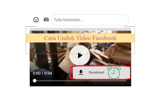 Cara Mudah Unduh Video Postingan Facebook di Android