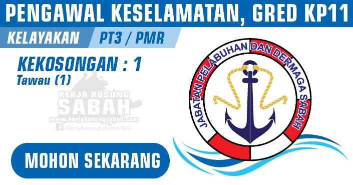 Jawatan Kosong Kerajaan Negeri Sabah 2021 | PENGAWAL KESELAMATAN, GRED KP11
