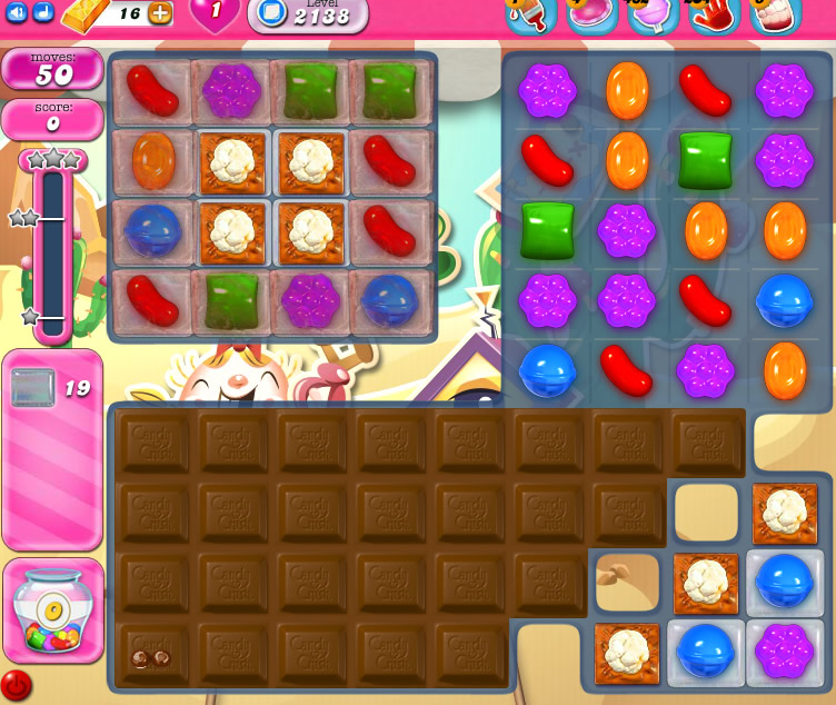 Candy Crush Saga level 2138