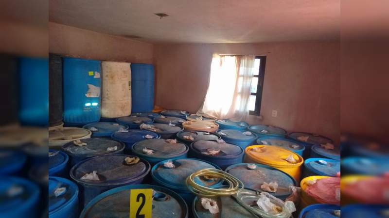 Aseguran 50 mil litros de gasolina en operativos en Hidalgo