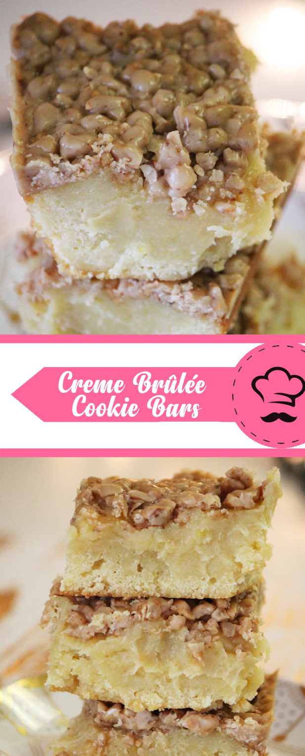 creme brûlée cookie bars