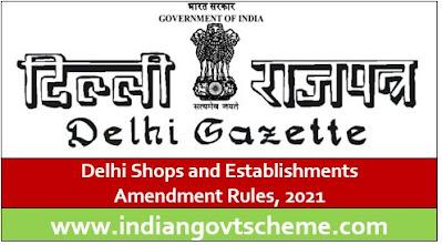 Delhi Shops and Establishments