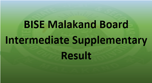 Intermediate Supplementary Result 2020 BISE Malakand Board