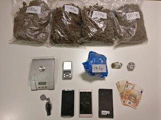 Εύρεση & κατάσχεση ναρκωτικών ουσιών από οικία σε περιοχή της Πιερίας. (ΒΙΝΤΕΟ)