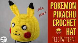 free pattern: pikachu amigurumi | craftgawker | 180x320