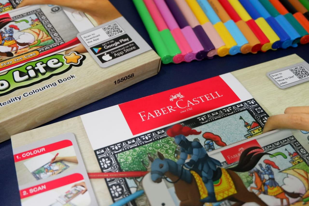 Faber Castell Colour To Life Perpaduan Seni Konvensional Dan Jadi Ini Tuh Adalah Pen Warna Yang Bisa Digunakan Menggambar Mewarnai Terus Setelah Selesai Menjadi 3d Dengan