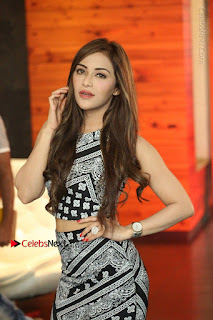 Telugu Actress Angela Krislinzki Latest Pos in Short Dress  0020.JPG