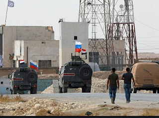 نشر القوات الروسية في شمال شرق سوريا