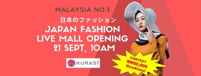 Kurasi Malaysia No.1 Fashion Live Mall