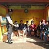 Kanit Sabhara Polsek Tinggimoncong Polres Gowa, Temui Komunitas Ojek Di Malino