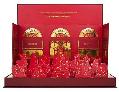 calendrier chocolat neuhaus