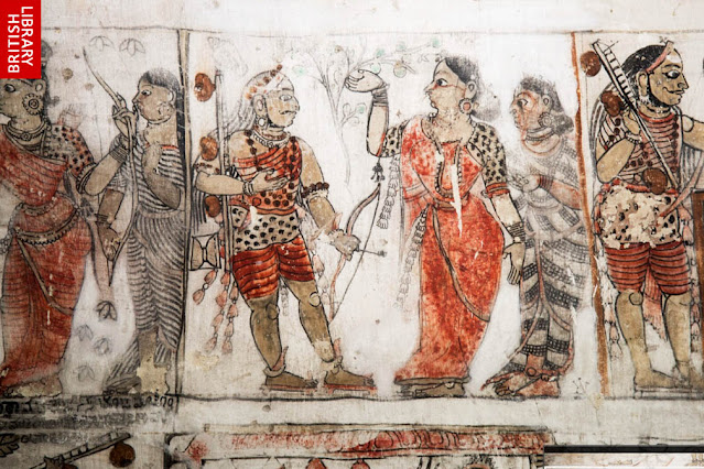 Chenraya Perumal Temple Adhiyaman Kottai Frescoes