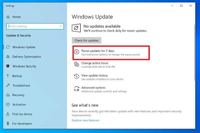 How to turn off updates to Windows 10