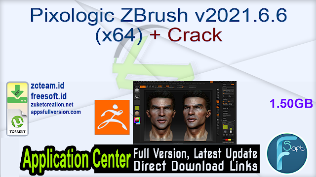 Pixologic ZBrush v2021.6.6 (x64) + Crack_ ZcTeam.id