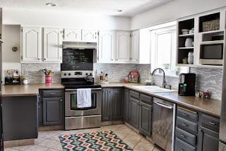 Two Tone Kitchen Cabinet Ideas