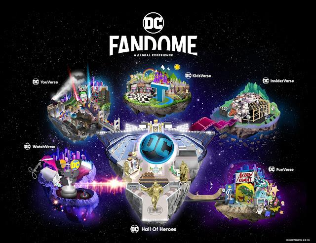 Atrações do evento DC FanDome