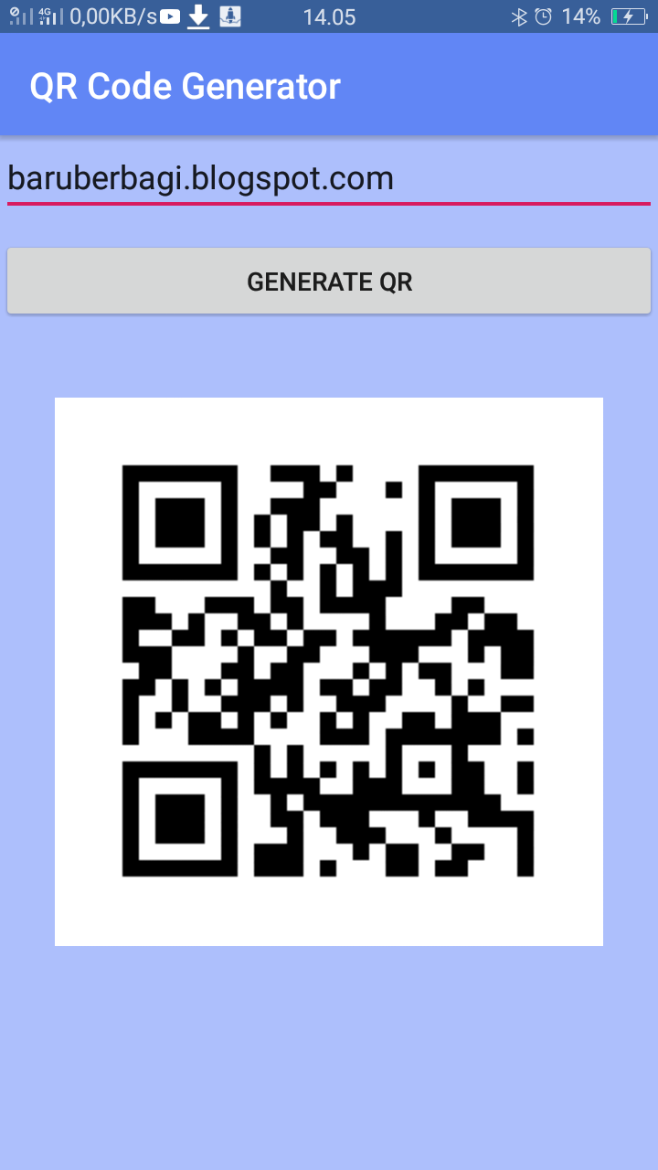Cara Membuat QR Code Generator dengan Android Studio - Baru Berbagi