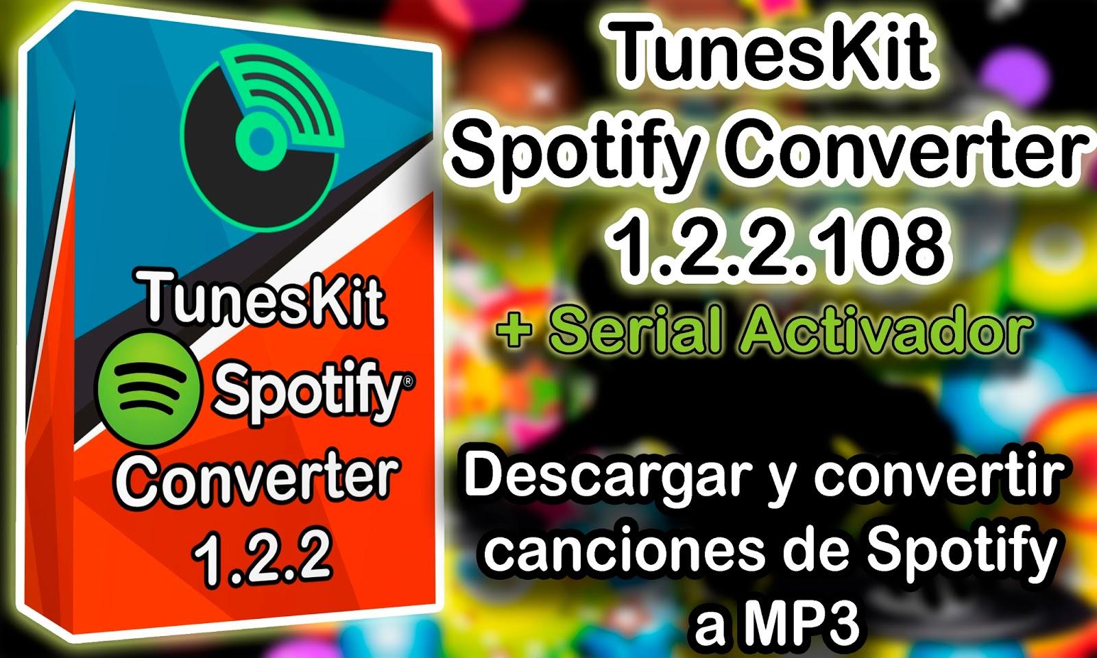 tuneskit spotify converter crack v1.3.4