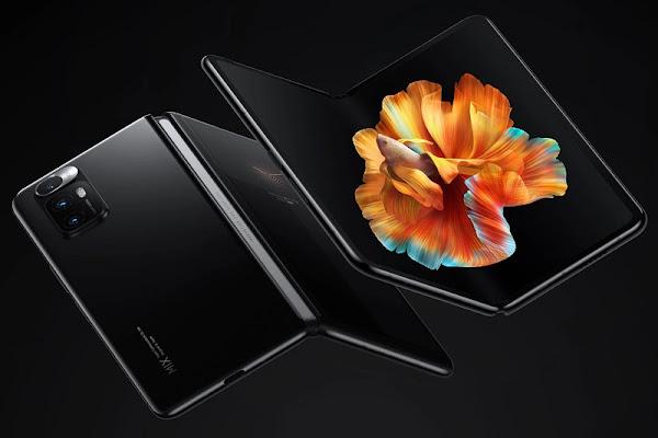 Xiaomi New Foldable Smartphone Has A Bottom Screen Camera