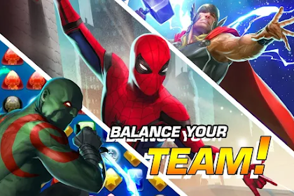 5 Game Marvel Paling Seru di HP Android