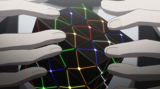 kubus rubik cube futuristic modern in psycho-pass anime episode 13