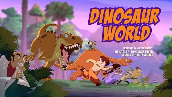 Chhota Bheem Dinosaur World Full Movie In Tamil (FIRST ON NET)