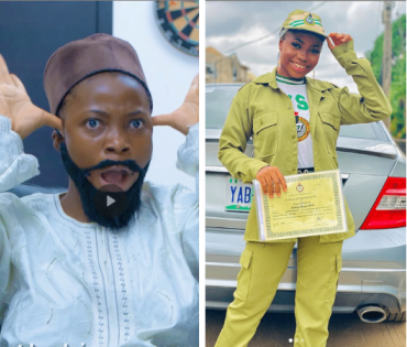 Instagram Comedienne Taaooma Completes NYSC