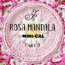 Rosa Mandala mini-CAL (part 3)